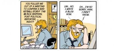 No, un blogger non è come il direttore di un giornale