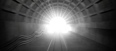 La luce in fondo al tunnel potrebbe essere anidride carbonica, non il paradiso