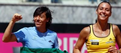 Il tennis italiano salvato dalle donne