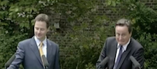 """Cameron a Clegg: """"Come baaaaack!"""""""