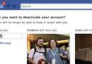 Lasciare Facebook e ripensarci
