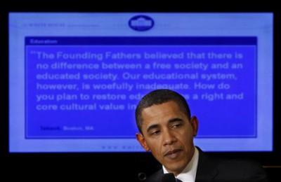 Obama contro le distrazioni della tecnologia