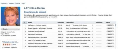 iTunes censura l'onorevole Bocchino