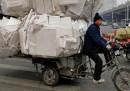 L'anarchia del triciclo in Cina