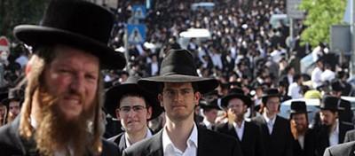 I centomila haredi di Gerusalemme
