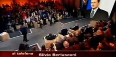 Berlusconi contro Giannini di Repubblica a Ballarò