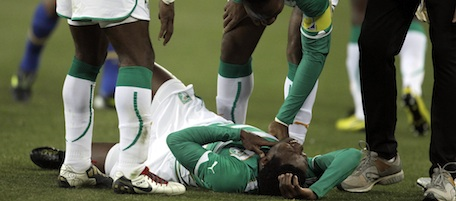 South Africa Soccer WCup Brazil Ivory Coast
