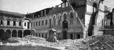 La propaganda nazista sulle macerie dell'Italia