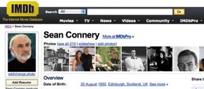 Gli attori chiedono a IMDb di togliere dal sito la loro età