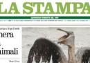 Perché oggi la Stampa e Google sono verdi?
