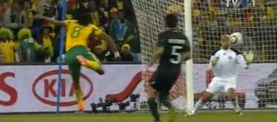 Il primo gol dei mondiali