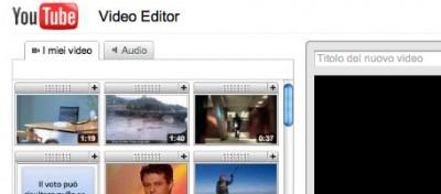 I video di YouTube ora si possono montare online