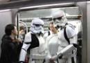 Star Wars in metropolitana