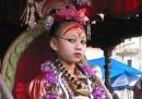 Nepal, il governo aumenta lo stipendio alla dea