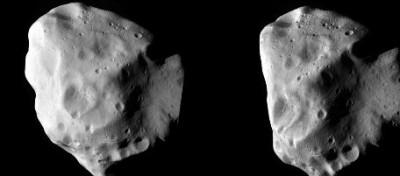 La sonda Rosetta incontra l'asteroide Lutetia