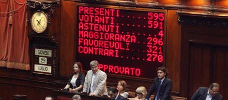 I conti della serva il post for Nuovi gruppi parlamentari