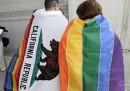 Oggi il giudizio sulle nozze gay in California