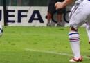 I migliori sette gol di tacco (e il più bell'autogol)