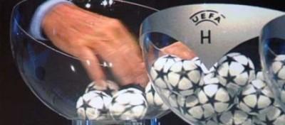 Ecco i gironi della Champions League