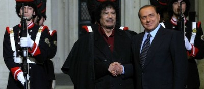 """La Berlusconi-Gheddafi connection"""