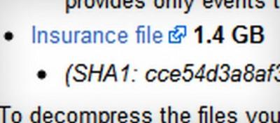L'assicurazione di WikiLeaks è da 1,4 gigabyte