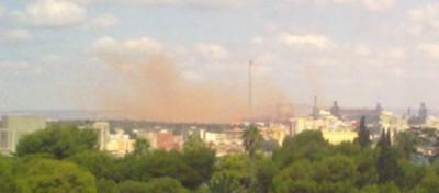 La nube rossa di Taranto