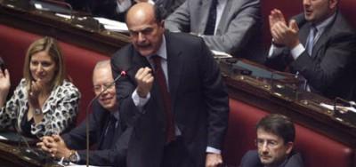 L'intervento di Pierluigi Bersani alla Camera