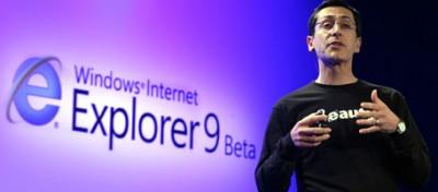 Il nuovo Internet Explorer 9