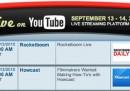 YouTube sperimenta i video in diretta