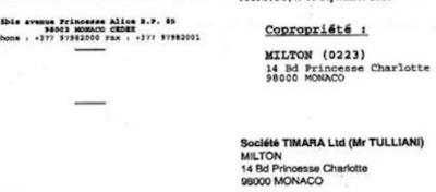 Tulliani ha affittato la casa di Montecarlo a se stesso?