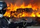 Le foto di 134 tonnellate di marijuana in fiamme