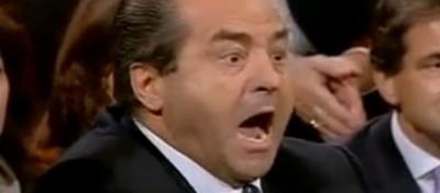 La rissa Di Pietro-Sallusti a Ballarò