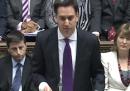 Il primo question time di Ed Miliband