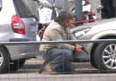 Il video della rapina a Milano