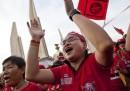 Le camicie rosse manifestano ancora in Thailandia