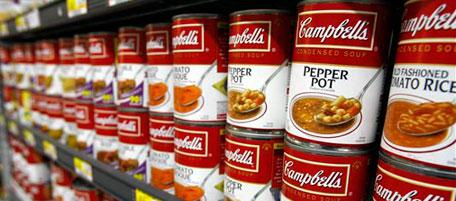 La zuppa campbell in crisi il post for Barattoli di zuppa campbell s