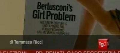Il Tg2 spiega Newsweek sull'Italia