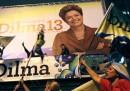 Dilma Rousseff, presidente del Brasile