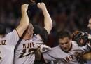 San Francisco ha vinto le World Series di baseball