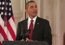 La conferenza stampa di Obama