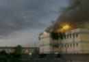 L'incendio nel carcere di Santiago del Cile