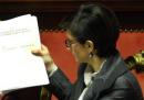Il portavoce del ministro Gelmini si è dimesso