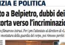 """""""Nei guai il caposcorta di Belpietro"""""""