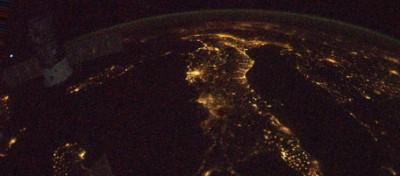L'Italia di notte
