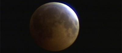 L'eclissi lunare in diretta