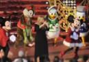 Natale in tilt shift a Disneyland