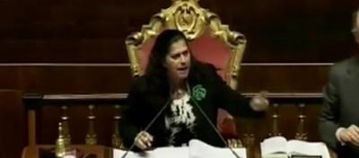 La pazza giornata del Senato e di Rosy Mauro
