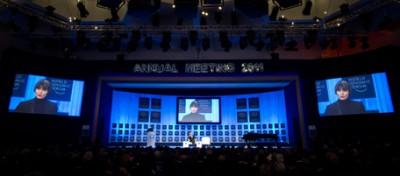 Seguire il meeting di Davos su internet
