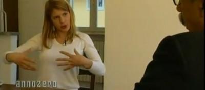 L'intervista a Nadia Macrì ad Annozero