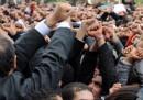 Piene le strade a Tunisi